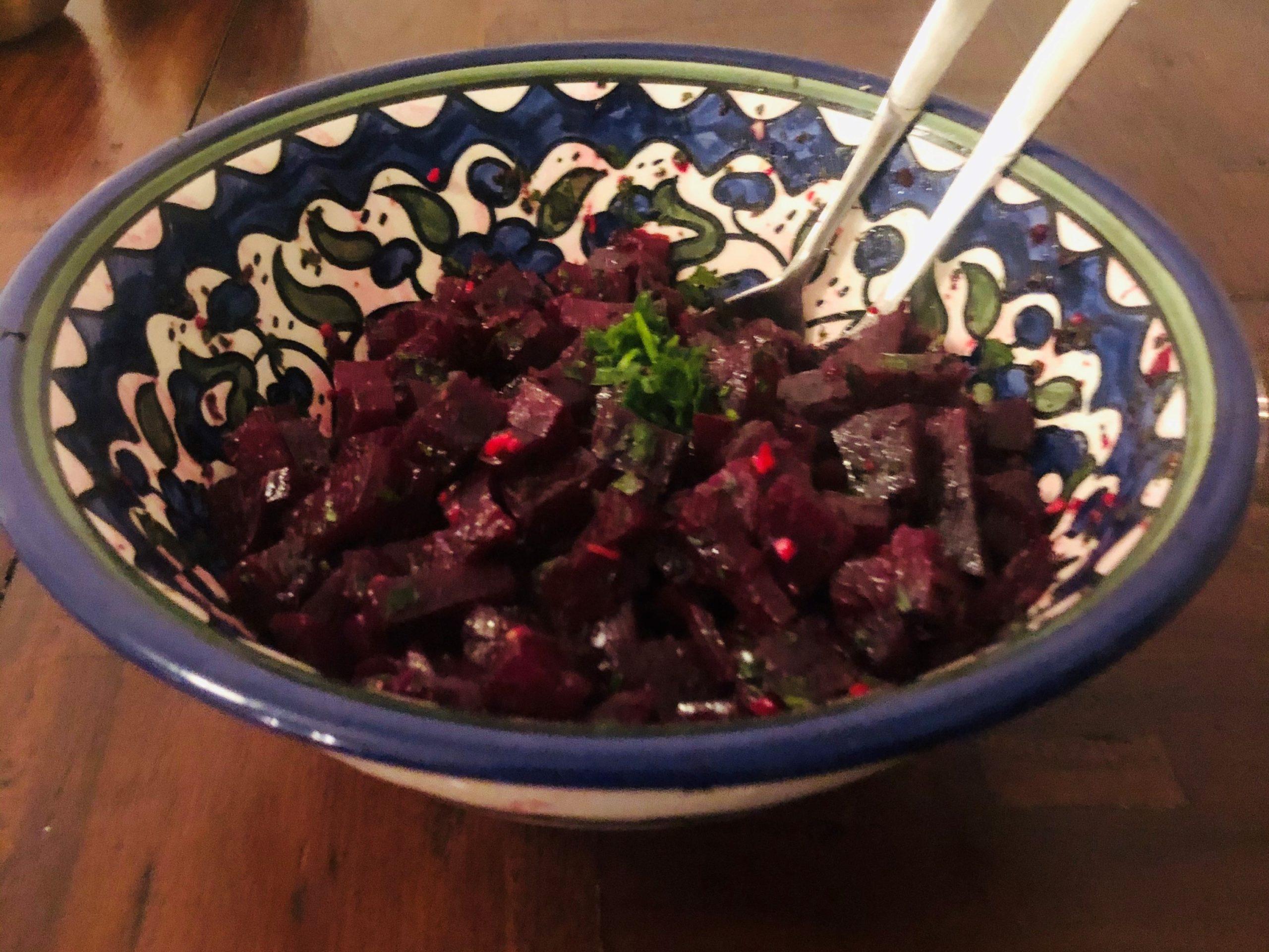 Veganer Rote Beete Salat - Beetroot salad